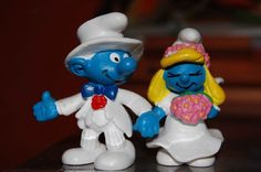 Finally..after all those years..A SMURF Wedding!...I hope my sister is invited! hehe