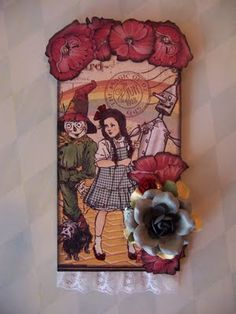 MissDanielleRenee: Graphic 45 Wizard of Oz Tags