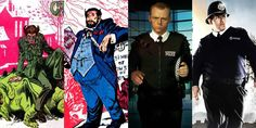 Cain&Abel:Simon Pegg & Nick Frost