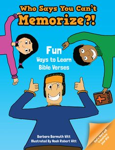 Fabulous book for kids with fun ideas about memorizing!  Perfect for Awana or any other memory work.