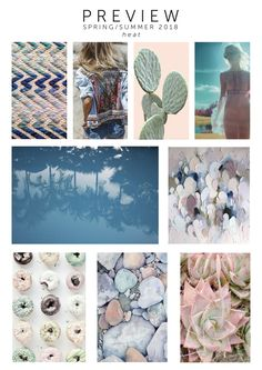 Thygesen & Birk Fabrics - Trend Preview for SS 2018 - visit our website at www.tbfabrics.com