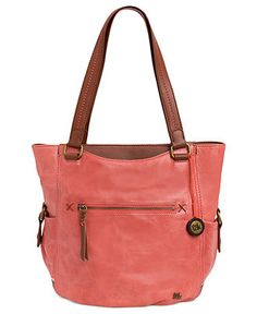 The Sak Handbag, Kendra Tote - Handbags & Accessories - Macy's The Sak Handbags, Tote Handbags, Leather Handbags, Leather Totes, Fossil Handbags, Fossil Bags, My Bags, Purses And Bags, Handbag Accessories
