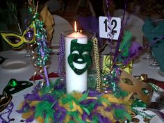 masquerade party centerpieces | Decorations.all time favorite collection of Mardi Gras Decorations ...