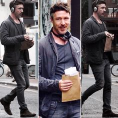 Aidan Gillen out and about in Dublin. Photos: wenn.com