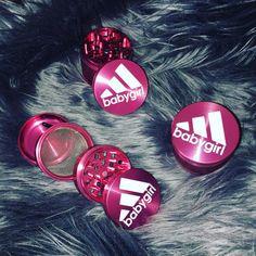 "Ganja accessories for women @ www.shopstaywild.com  ""BabyGirl"" Herb Grinder"