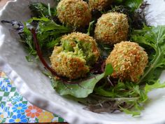 Avocado edamame breakfast croquettes, my simple recipe