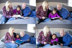 Lifestyle Family Photography, Family Reading Together, CT Photographer, Sarah Lehberger