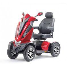 Drive scootmobiel King Cobra - Snelheid: 18km/u - Actieradius: 50 - 60 km - Maximaal gebruikersgewicht: 200kg