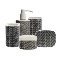 Orla Kiely Stem Bathroom Accessories