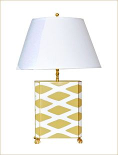 Dana Gibson Taupe Parthenon Lamp just received it at the store.  Love it>