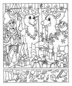 13 Spellbinding Hidden Pictures Hidden Object Puzzles, Hidden Picture Puzzles, Hidden Objects, Colouring Pages, Printable Coloring Pages, Coloring Pages For Kids, Coloring Sheets, Christmas Worksheets, Worksheets For Kids