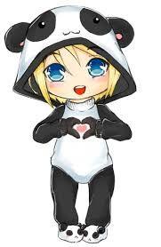 Resultado De Imagem Para Meninas Chibi Dibujos Kawaii Pandas Animados Arte De Panda