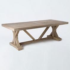 Terrain Preserved Teak Dining Table  #shopterrain