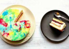 Il était une fois la pâtisserie...: Entremets vanille fruits rouges { L'arc-en-ciel de Patrick Berger }. Divin!