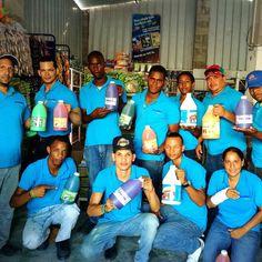 > #Jaraguenses en la frontera Dominico-Haitiana trabajando los productos #CAOBANET  #caobanetindustrial #caobanetcomercial
