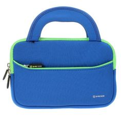 7 - 8 inch Tablet Sleeve, Evecase® 7 ~ 8 inch Tablet Ultra-Portable Neoprene Zipper Carrying Sleeve Case Bag with Accessory Pocket - Blue/Green - Evecase Ultra-portable Universal Neoprene Carrying Case is a lightweight, portable sleeve that is great for protecting your device from scratches and minor impacts. Made of water resistant neoprene, this durable, shock absorbing sleeve is ideal for taking your device on the go. Easily carry your... - http://buytrusts.com/giftsets/t