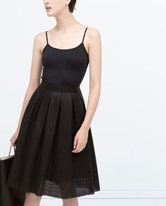 ZARA - COLLECTION SS15 - CAMISOLE TOP