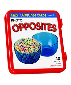 Another great find on #zulily! Opposites Language Card Set #zulilyfinds