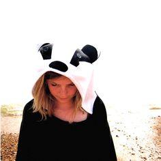Badger onesie - full size animal costume. £90.00, via Etsy.