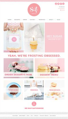 Cupcake Website Desi