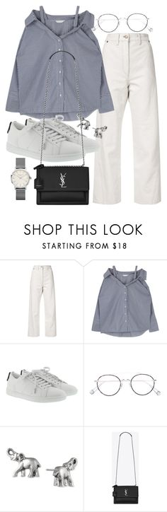 """""""Untitled #22323"""" by florencia95 ❤ liked on Polyvore featuring Lemaire, Yves Saint Laurent, Ahlem, Lonna & Lilly and ROSEFIELD"""