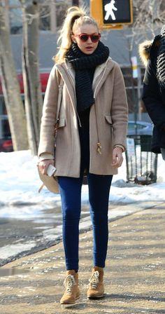 Gigi Hadid street style   Harper's Bazaar