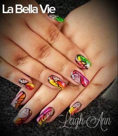 Colourful Nails Colourful Nails, Nail Colors, Hair Beauty, Nail Colour, Cute Hair