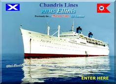 Chandris Lines RHMS Ελληνίς / SS Lurline