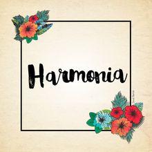 HARMONIA - Série Paz e Amor e Harmonia.