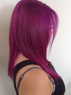 fuschia colored hair - Google Search