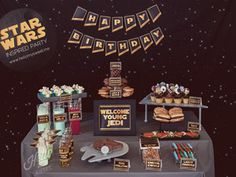 Star Wars Party Printables download instantly for quick last minute party decor!
