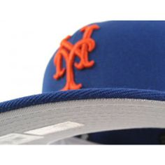 b49c98113bca2 New York Mets New Era 59Fifty fitted Hats (ON FIELD REPLICA  GRAY UNDER BRIM