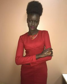 #Melaningoddess #Khoudiadiop #Senegalese Fashion fan blog from industry supermodels: Khoudia Diop - special appearance in LA