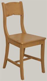 Talonpoikaisbiedermeier-tuoli keltaiseksi maalattuna