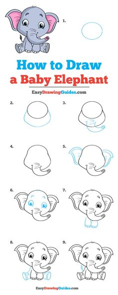 baby draw drawing ideas for beginners Elephant How to Draw a Baby Elephant How to Draw a Baby Elephant Really Easy Drawing Tutorial baby draw drawing ideas for beginners Elephant How to Draw a Baby Elephant How to Draw a Baby Elephant nbsp hellip Elephant Drawing For Kids, Elephants For Kids, Baby Animal Drawings, Draw An Elephant, Draw Animals For Kids, Easy Drawings Of Animals, Cartoon Elephant Drawing, Elephant Drawings, Elephant Doodle