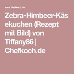 Zebra-Himbeer-Käsekuchen (Rezept mit Bild) von Tiffany86 | Chefkoch.de