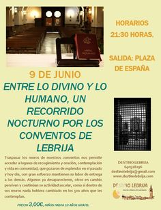 Para apuntaros: * Facebook, twitter, instagram, pinterest.. * Movil: 640528296 * Correo: destinolebrija@gmail.com * Página Web: www.destinolebrija.com