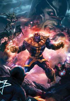Thanos - Aleksi Briclot