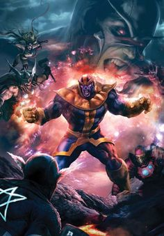 Thanos •Aleksi Briclot