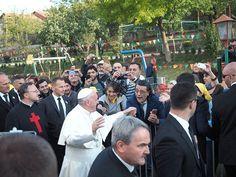 Pope in Georgia, lovely atmosphere #pope #Catholic #Georgia #travel #religion