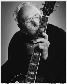 Les Paul, yes it is an awesome guitar, but looking past that, there was this man behind it. Not only a phenomenal guitarist but a great inventor. He took that first tape recorder Bing Crosby gave him & ran with it becoming the father of mult-track recording. Modern music owes a ton to his creativity.