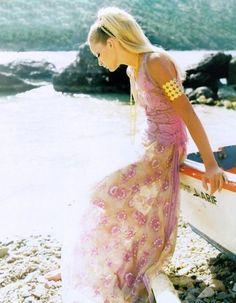 Georgina Grenville by Satoshi Saikusa for Vogue Paris May 1996