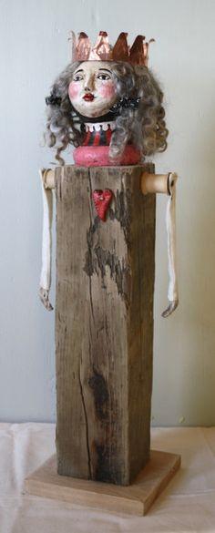 http://thetroddenpath.ning.com/group/the-queen-of-hearts-folk-art-sculpture-doll