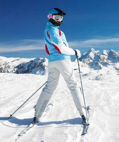 Exercises to get ski season ready.