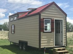 Over $6,000.00 off this professionally built tiny house shell! This is a 24'x8′ Complete Shell with the following features: Trailermade Custom Foundation (On Wheels!) 3″ Rigid foam insulated foundation Advantech Subfloor 2×4 wood frame construction (Engineered for shear strength and to withstand the road) 8′ sleeping loft with just under 4′ of headroom in the…