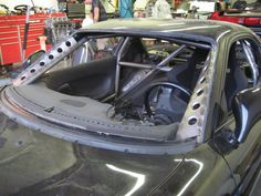 Roll cage and a pillar supports and strengthening with dimple dies