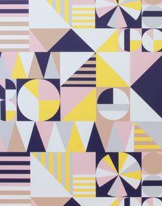 Geo Circle Wallpaper