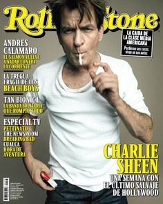 Rolling Stone Argentina  Charlie Sheen