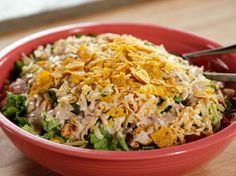 Chicken Taco Salad from FoodNetwork.com