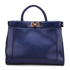 Sale 17% (34.38$) - Pu Leather Shoulder Bag Lock Button Women Handbag